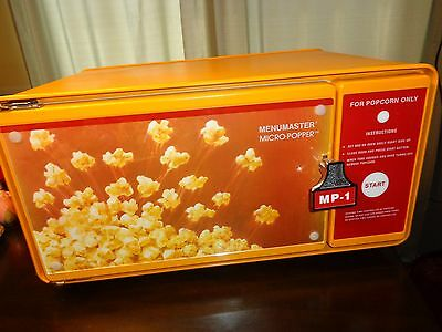 VINTAGE MENUMASTER MP1 COMMERCIAL POPCORN MICROWAVE OVEN Game Room Theatre media