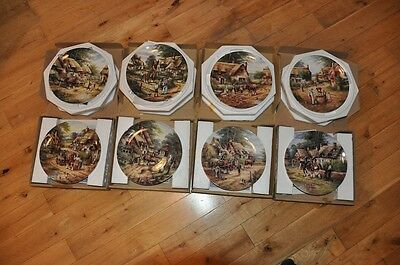 Wedgwood Decorative Collectors Plates 'Country Days' by Chris Howells