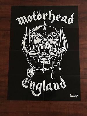 """Motorhead / Chuck Schuldiner double sided poster 22"""" x 30'"""