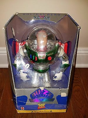 Mattel Toy Story Buzz Lightyear Holiday Hero Disney Holiday Collection 1998 New