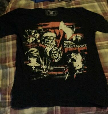 Silent Night Deadly Night Shirt M Fright Rags Christmas Horror