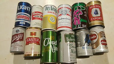 Collection of Beer Cans lot of 12