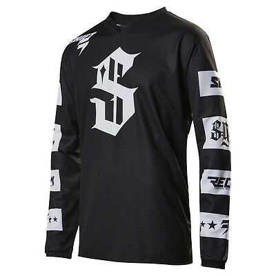 2017 Shift MX Mens Recon Jersey - Checkers Motocross Offroad Trail Enduro