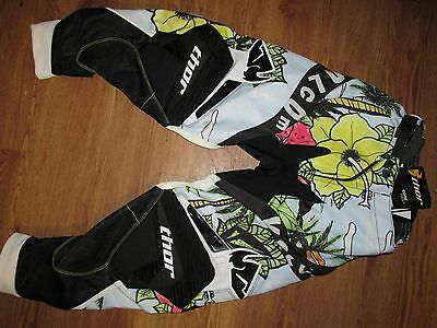 Thor Core Volcom Adult Pants Aloha Riding Motocross Motorcycle Racing Size 28