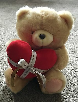 Forever Friends Soft Teddy With Heart