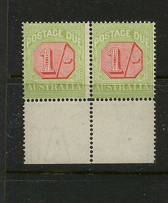 Australia    J45  mint  NH  pair             MS0122