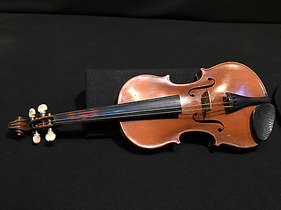 Antique Violin 4/4 Antonius Stradivarius Copy Czechoslovakia
