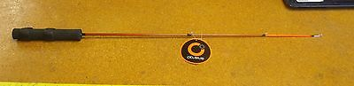 Celsius Ice Rod Riot, Red 30IN LONG, Medium/Heavy Action NEW ice fishing