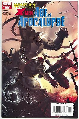 What If X-Men Age Of Apocalypse 1 Marvel 2007 VF NM