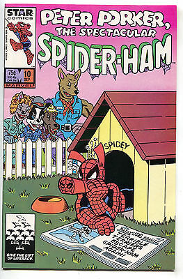 Peter Porker The Spectacular Spider-Ham 10 Marvel 1986 NM Spider-Man