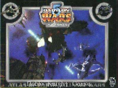 Agents of Gaming Babylon 5 Wars Atlas of Earth Alliance Wars SC NM-