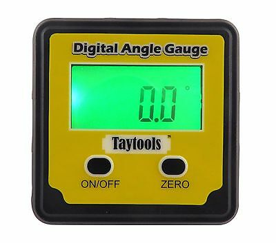 Taytools Digital Level Inclinometer Angle Cube Protractor Back Lit Magnet 113900