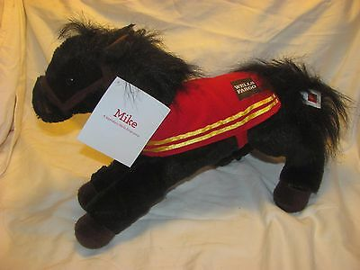 Wells Fargo 2016 LEGENDARY MIKE THE PONY Limited edition NWT
