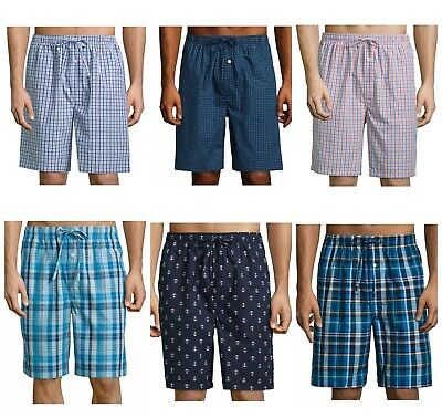 Men's Stafford Boxer Sleep Short Pajama Shorts Bottoms S M L XL or XXL, New $24