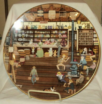 Royal Doulton General Store Collectors Plate 3rd in Series 1981