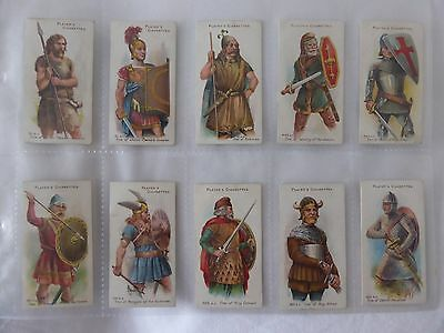 Player's Arms & Armour. Issued 1909. Full set of 50 originals.