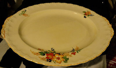 Grindley Oval Platter Lucille Pattern Mint Condition