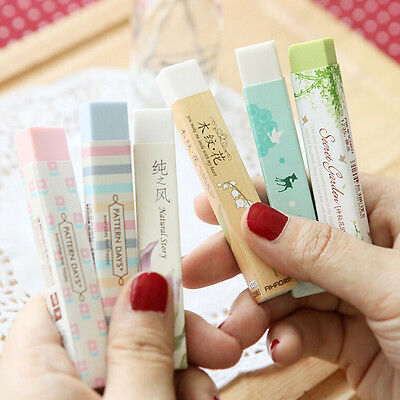 Elegant Long Cleansing Drawing Painting Rubber Eraser Stationary Gift 1pc MDAU