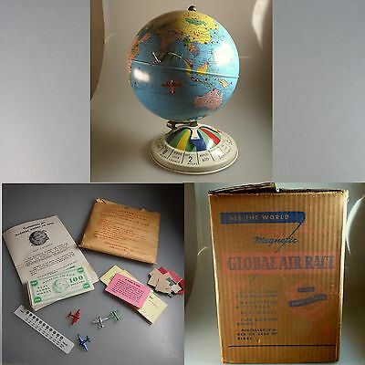 Blech Globus: Magnetic Global Air Race Game 1952 (40371)