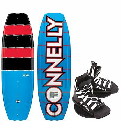 CONNELLY BLAZE 140 Wakeboard Package UNTIE Whale Binding Blue