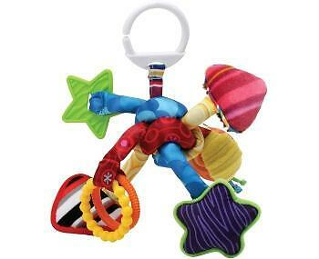 Tomy Lamaze LC27128 Baby Toy Activity Knot Tug & Play Multi Colour & Texture New