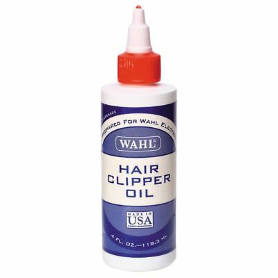 Wahl 3310 Electric Hair Clipper Trimmer Shaver Oil Lube 4oz Bottle New