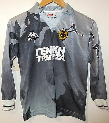Aek Athens Authentic Football Shirt By Kappa Size Kid's 10 Greece