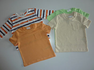4 Cute Little Boys Summer Tops NWT