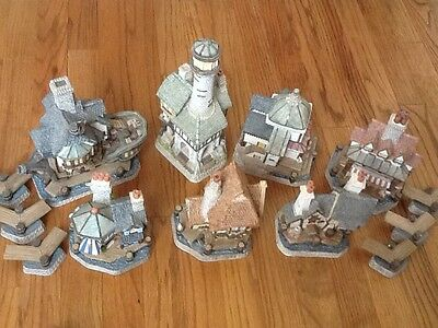 David Winter Cottages Seaside Boarwalk Collection Limited Edition Handmade