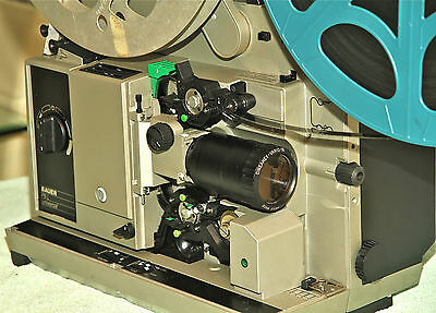 BAUER P8 UNIVERSAL 16mm Optical Sound Projector