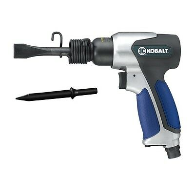 New Kobalt Pneumatic Air Powered Air Hammer W/ 2 Chisels Sgy-Air132Tz
