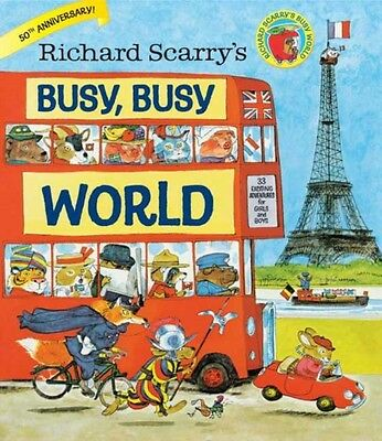 Richard Scarry's Busy, Busy World (Hardcover), Richard Scarry, 9780385384803