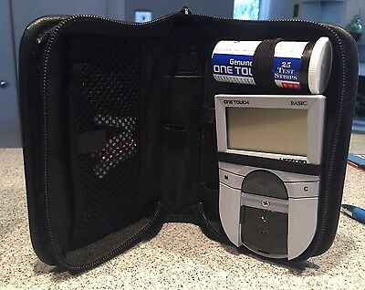 Lifescan One Touch Basic Complete Diabetes Monitoring System Case Parts