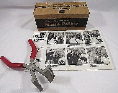 Mane Puller Stainless Steel Horse Tack Equestrian Grooming Tool USA Sequist