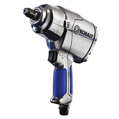 New Kobalt 1/2-In 350Ft-Lbs Pneumatic Air Powered Impact Wrench Sgy-Air134Tz