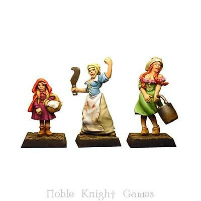 Fenryll Fantasy Mini Resin 28mm Three Sisters, The Pack MINT