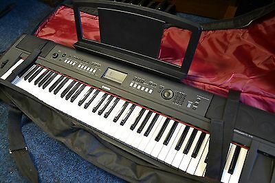 Yamaha Piaggero NP-V80 Piano and Carry Case, Immaculate Condition, Free Postage