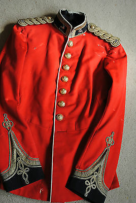 Officers Royal Warwickshire Militia tunic