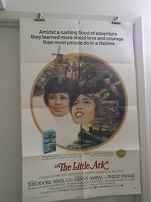 THE LITTLE ARK one 1 sheet movie poster STYLE B GENNY AMBAS PHILIP FRAME 1972