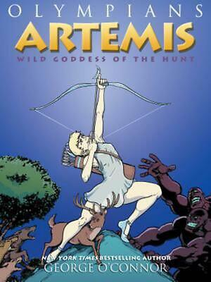 Artemis: Wild Goddess of the Hunt by George O'Connor (English) Hardcover Book Fr