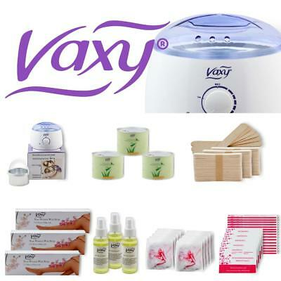 PRO Quality Depilatory Waxing Kit Heater Wax Strips Hair Removal Free Delivery
