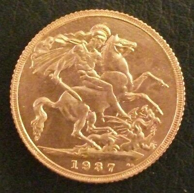 1937 Proof Half-Sovereign Copy.  (FREE UK POSTAGE AVAILABLE)