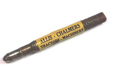 1930's ALLIS-CHALMERS Tractors - Machinery BULLET PENCIL- Marshall, Mich.