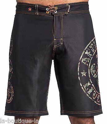acb85e71ed Affliction - DIVIO CAMO - Men's Boardshorts Swim Trunks - Shorts - NEW -  Black