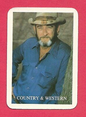 Don Williams Country Music Collectible Card 1992
