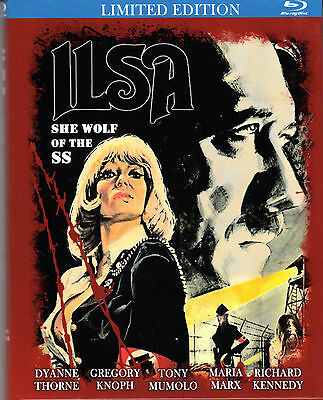 Ilsa , She Wolf of the SS , limited small hardbox , uncut , only german audio ,B