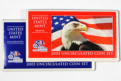 2003 United States US Mint Uncirculated Coin Set (U03) SKU1409