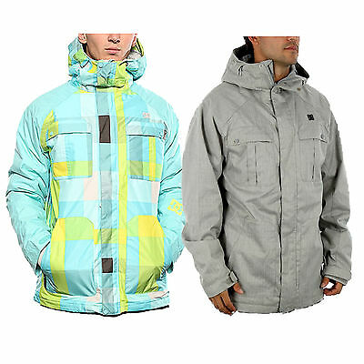 New DCShoes Mens Servo Ski Snowboard Jacket Snow Waterproof Windproof Warm