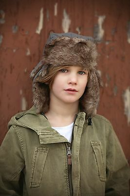 Nwt Boys Trapper Winter Hat