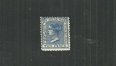 NEW SOUTH WALES STAMP #62d (USED) FROM 1882. Perf. 12 x 10. Cat. Val. $ 140.00.